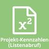 Projekt-Kennzahlen - Listenabruf