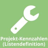 Projekt-Kennzahlen (Listendefinition)