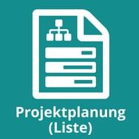 Projektplanung (Liste)