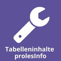 Tabelleninhalte prolesInfo
