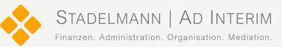 Stadelmann Ad interim - Finanzen. Administration. Organisation. Mediation.