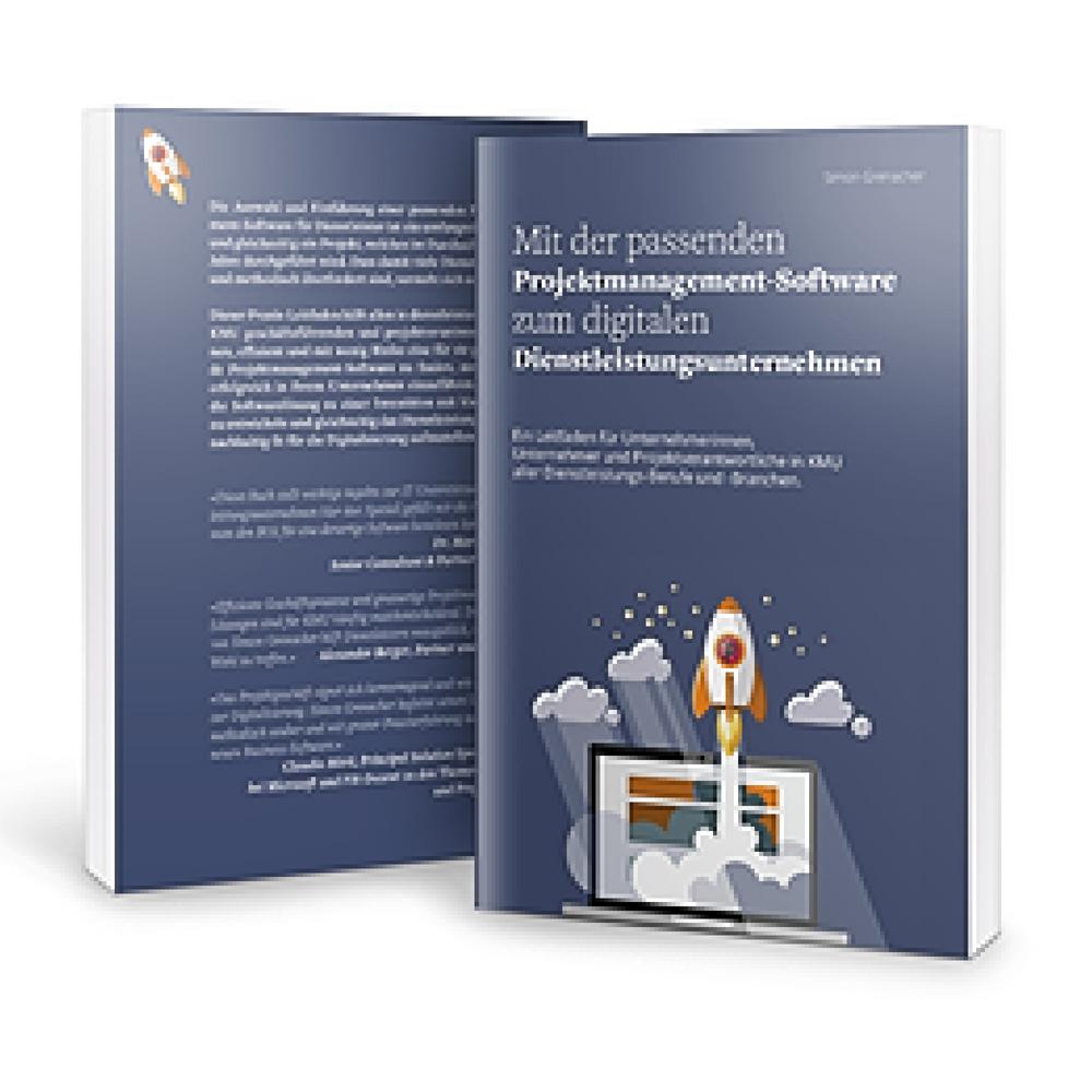 Buchbestellung: Mit der passenden Projektmanagement-Software zum digitalen Dienstleistungsunternehmen
