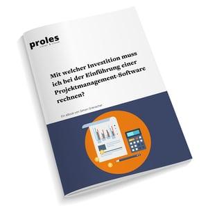 eBook: Mit welcher Investition muss ich bei der Einführung einer Projektmanagement-Software rechnen?
