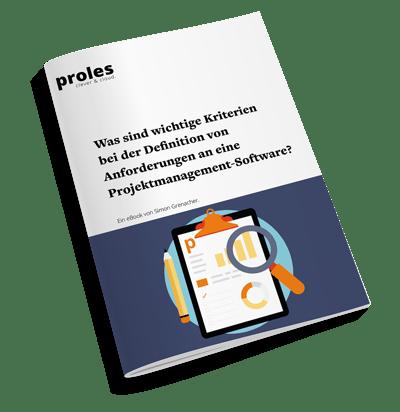 eBook: Was sind wichtige Kriterien bei der Definition von Anforderungen an eine Projektmanagement-Software?