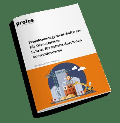eBook: Projektmanagement-Software für Dienstleister - Schritt für Schritt durch den Auswahlprozess