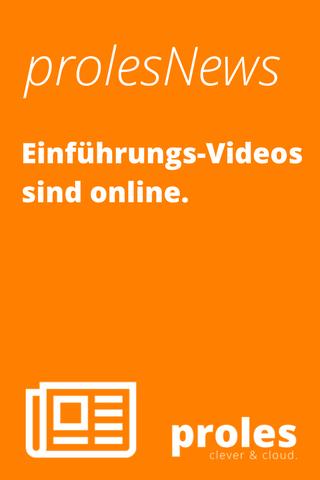 Einführungs-Videos sind online
